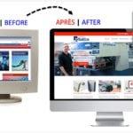 Avant-Après, le site internet de Quadriscan