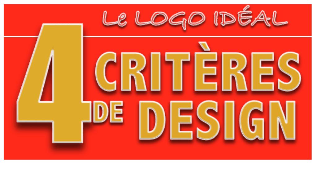 Logo, 4 critères d'un design idéal