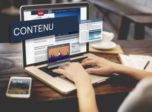 Site internet actualisé et contenu