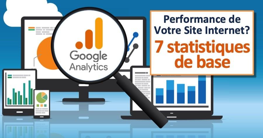 Google Analytics 7 Statistiques de base à comprendre